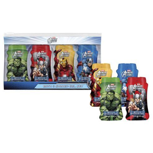 buy marvel superheroes bath shower gel gift set