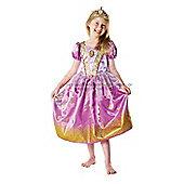 Rubie's Fancy Dress - Disney Princess - Rapunzel Glitter Costume - CHILD SMALL UK 3-4 Years