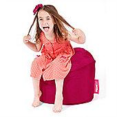 Big Bertha Original™ Indoor / Outdoor Little Bertha Kids Bean Bag - Cerise