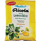 Ricola Lemon Mint Lozenges