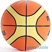 Molten BGR Rubber Basketball Orange & Beige 12 Panels FIBA Approved Size 5