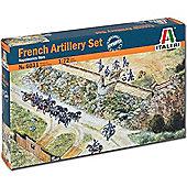 Italeri Napoleonic French Artillery Set 6031 1:72 Military Figures Kit