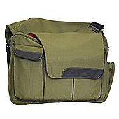 Diaper Dude Eco Friendly Messenger II Changing Bag Green Dude