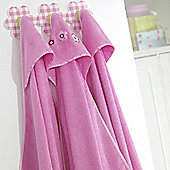 bed-e-byes Purfect Pink Cuddle & Dry
