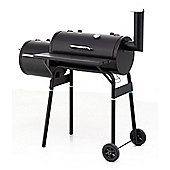 Offset Charcoal Barbecue Smoker - Smoker Grill & BBQ Chips