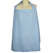 Breastfeeding Cape (Dotty Blue)