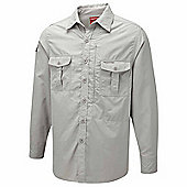 Craghoppers Mens Nosilife Insect Repellent Long Sleeve Shirt - Beige