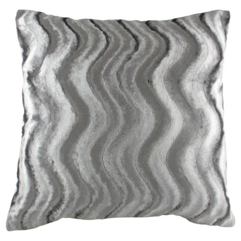 Glam Velvet Wave Cushion