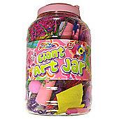 Grafix Giant Art Jar Pink