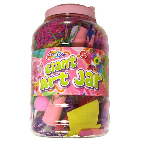 Grafix Giant Art Jar Pink