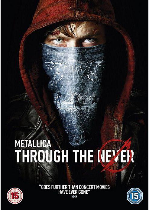 Metallica Through The Never -DVD
