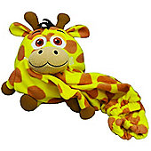 Snuggle Pets 120cm J-Animals Junior Giraffe