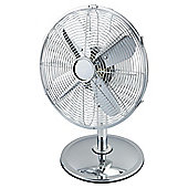 "Tesco UK12"" Metal Desk Fan"