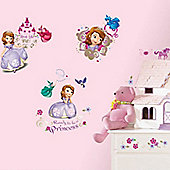 Sofia the First Bedroom Decals
