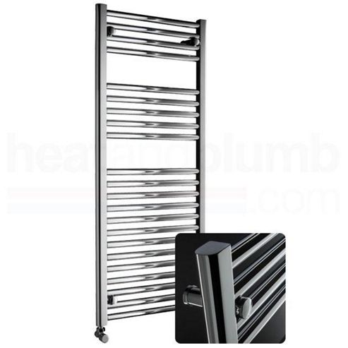 DQ Heating Metro Towel Rail 800mm High x 300mm Wide