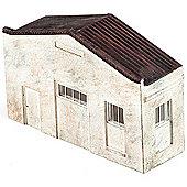 Hornby Skaledale R9755 Low Relief - Utility Warehouse - Oo Gauge Buildings