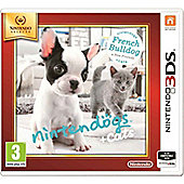 Nintendogs And Cats, French Bulldog + New Friends 3DS