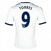 2013-14 Chelsea Away Shirt (Torres 9) - White