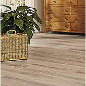 Westco 8mm V-Groove Glossy Plank Sonoma Oak Laminate Flooring - Pack Size: 2.13m2