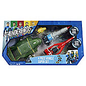 Thunderbirds Are Go Vehicle Super Set