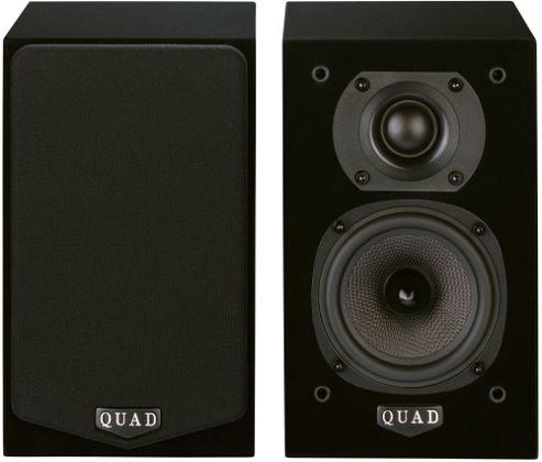 QUAD L-ITE 2 COMPACT SPEAKERS (PAIR) (BLACK)