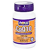 Now CoQ10 100 mg 50 Softgels