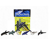 The Sea World Plastic Sea Animals Figures