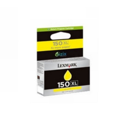 Lexmark 150XL Yellow Return Program Ink Cartridge for Lexmark PRO715 and Lexmark PRO915