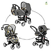 Hauck Disney Malibu All-In-One Travel System, Spring Woods