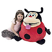 Giant Tummy Stuffers Red Ladybird