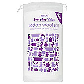 Tesco Everyday Value Cotton Wool Roll 180g