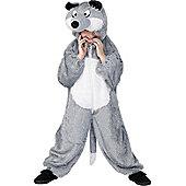 Child Wolf Costume Medium