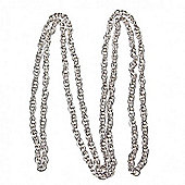 Doubled Chain 07 - Silver - 1mt