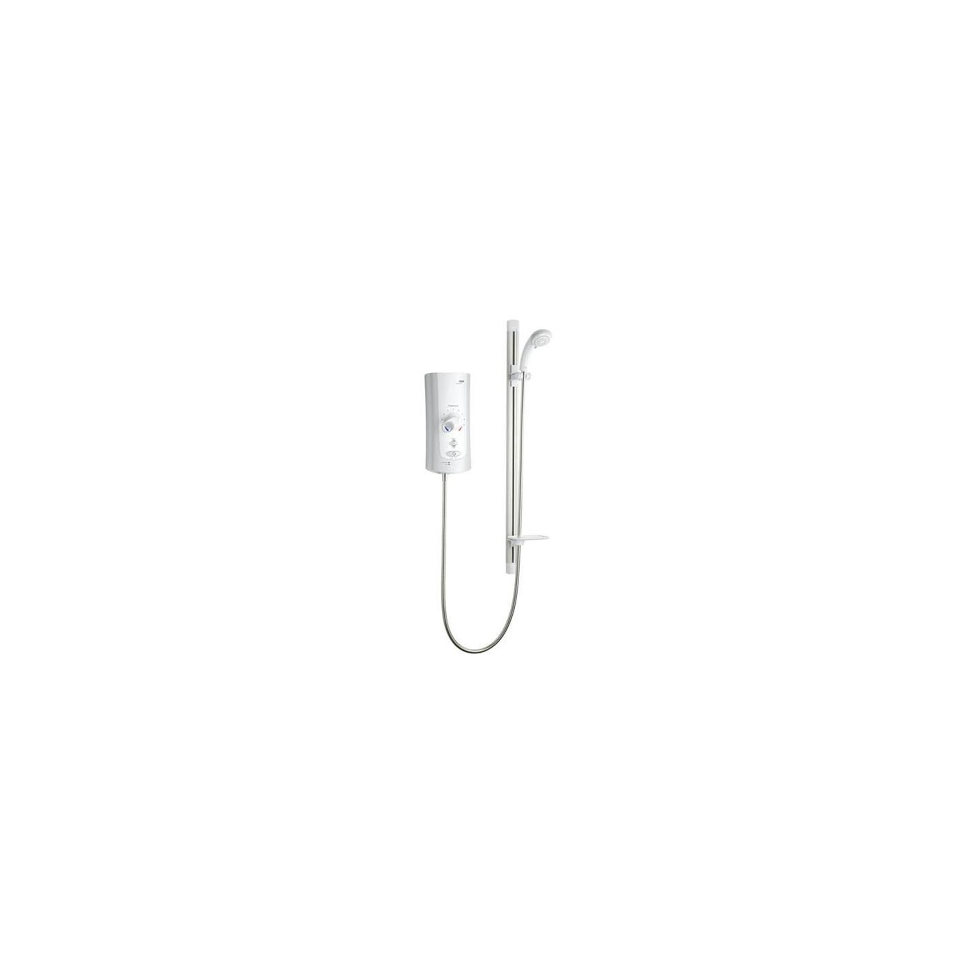 Mira Advance ATL Flex 9.0 kW Electric Shower, Handset, White/Chrome at Tesco Direct