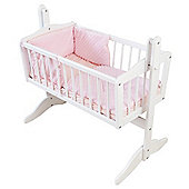 Isabella Alicia Dimple Crib Set (Pink)
