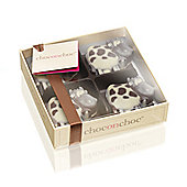 Cow shaped chocolates