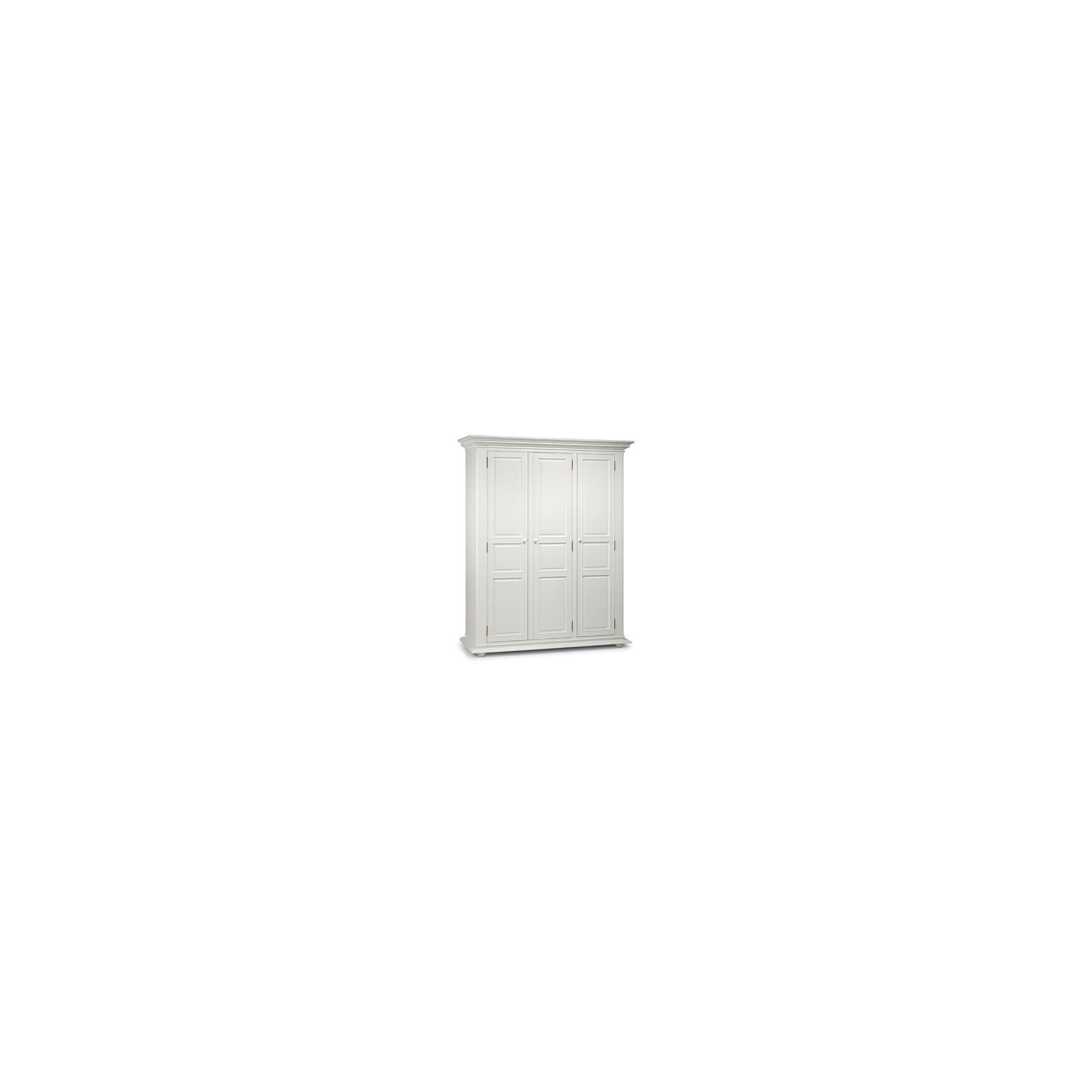 Julian Bowen Josephine 3 Door Wardrobe in Off White at Tesco Direct