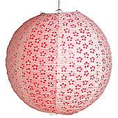 Loxton Lighting Eyelet Lantern (Set of 2) - Fushia