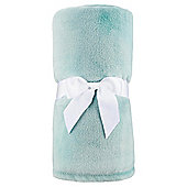 Super Soft Fleece Throw, Eau De Nil