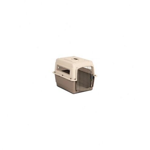 Petmate Medium Vari Ultra Fashion Dog Kennel in Bleached Linen and Beige