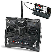 Carson Reflex Rc 6 Channel 2.4Ghz Radio Transmitter With Rx C500501 500501001