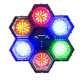 6 LED Disco Party DJ Pod Lights Sound Activated Set