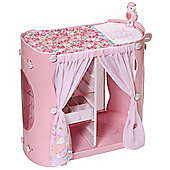 Baby Annabell 2-in-1 Baby Unit Wardrobe and Changing Table