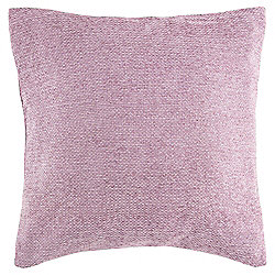 Texture Chenille Cushion, Dusty Pink