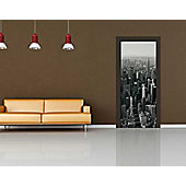 1Wall New York Skyline Door Mural