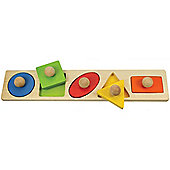 Bigjigs Toys BB040 Shape Matching Board
