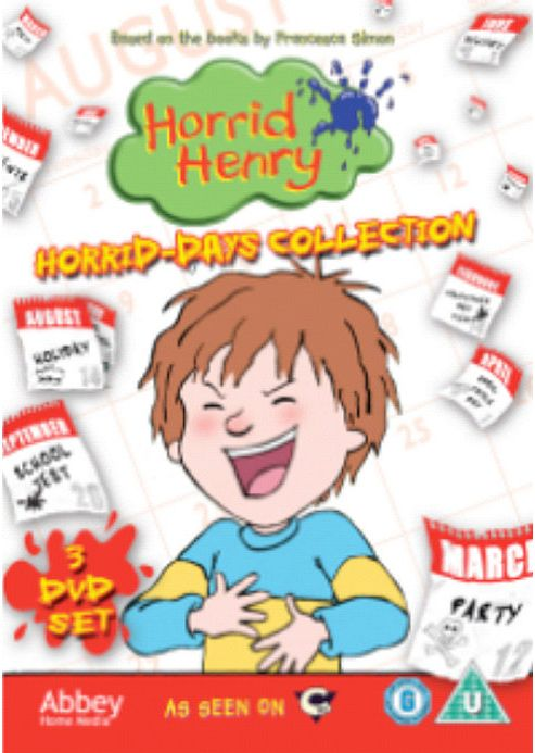 Horrid Henry Horrid Days Collection - Tesco Exclusive