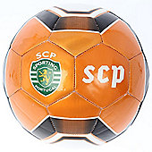 Puma SCP Powercat SCP Sporting Lisbon White / Flame Football Size 5