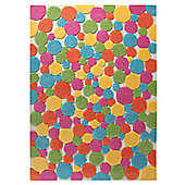 Esprit Color Drops Multi Kids Rug - 70cm x 140cm
