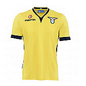 2013-14 Lazio Authentic Away Match Shirt - Yellow